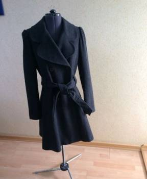 Женское пальто. размер 40, одежда по низким ценам онлайн, Иваново, цена: 1800р.