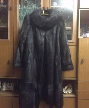 Модная одежда для девушек осень-зима, шуба нутрия