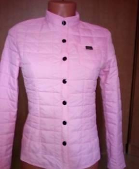 Розовая осенняя куртка, магазин одежды онлайн дешево с бесплатной доставкой недорого, Волжск, цена: 750р.
