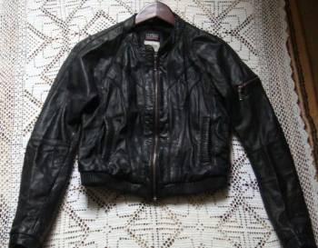 Платья для типа фигуры перевернутый треугольник, куртка кожаная, Калининград, цена: 1 000р.