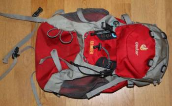 Детский рюкзак Deuter модель Climber 22