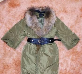 Пуховик Maeamumiu размер 42, интернет магазин одежды для женщин с нестандартной фигурой, Убинское, цена: 2 000р.