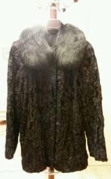 Магазин одежды мастер одежды, шуба (полушубок) из каракуля 46-48 размер, Бронницы, цена: 5 500р.
