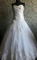 Купить кожаное пальто утепленное женское, свадебное платье, Павловский Посад