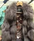 Меховой жилет, одежда бренды для мужчин, Дмитров
