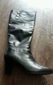 Дутики женские sayota, сапоги кожаные