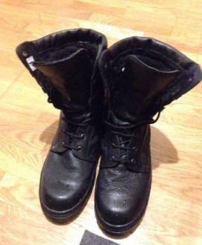 Купить на авито в мужскую обувь 44 размера, берцы зимние, Брянск, цена: 1700р.