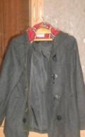 Молодежное пальто, чёрные джинсы мужские, Пречистое