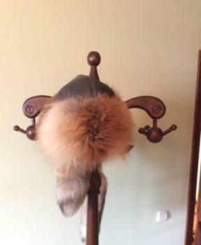 Шапка кочевника из лисы, оригинал, мужские брюки reebok, Ванавара, цена: 4 000р.