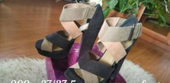 Босоножки фирма H/M, купить зимнюю обувь из натуральной кожи, Архангельск, цена: 700р.