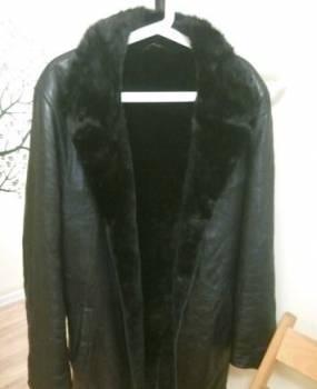 Двубортное пальто мужское купить, дубленка мужская кожаная