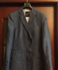 Пиджак джинсовый hechter, интернет магазин стильной офисной одежды, Ожерелье
