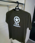 Футболка Alied Star олива, футболка fila мужские, Пенза