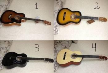 Акустические и классические гитары
