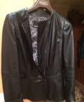 Куртка новая, экокожа Размер 48-50, чёрная, пуховики макс мара прошлая коллекция, Актюбинский
