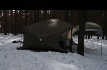 Палатка Куб 5, 0х5, 0 шатер с откр. стен. Уралзонт