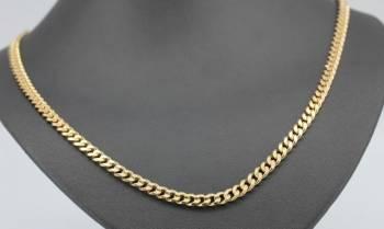 Золотая цепочка из красного золота (55см)
