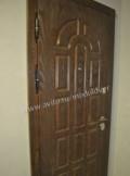 С панелями мдф металлическая дверь, Дрезна