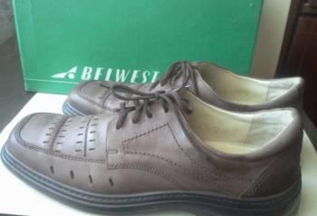 """Полуботинки мужские """"Belwest"""", 46 размер, интернет магазин мужской костюм, Сенгилей, цена: 3 200р."""