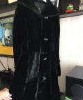 Купить женские махровые халаты, новая Шуба мутоновая с норковой отделкой, Старый Оскол