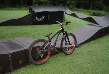 Велосипед на раме DaBomb Warhawk 2015
