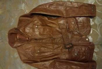 Куртка кожаная, интернет магазин мужской одежды ombre
