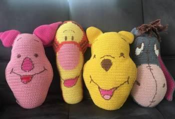 Вязаные игрушки Винни пух и его друзья 0+, Тверь, цена: 3 500р.