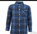 Рубашка фланель мужская размер 41-42 ворот, L, футболка dead dynasty купить, Полесск