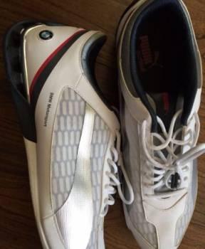 Стильные мужские туфли цена, кроссовки Puma BMW мужские белые