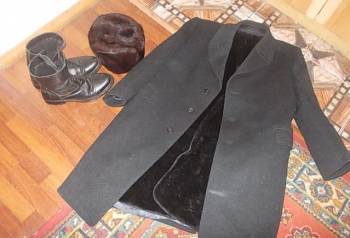 39560084 Купить мужскую кожаную куртку девид мур на авито, пальто + шапка +  полусапоги, цена
