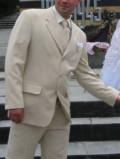 Мужские кожаные куртки maze, легкий мужской костюм бежевого цвета б/у 1 раз, Асбест