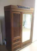 Антикварный платяной шкаф модерн, Лесной Городок