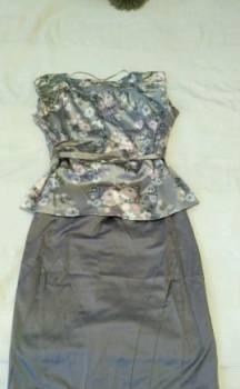 Костюм юбка, свадебные платья короткие цены, Большие Колпаны, цена: 500р.