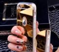 IPhone 7 Зеркальный чехол Gold Золотой силикон, Нижний Новгород