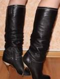 Купить женские зимние ботинки соломон со скидкой, сапоги кожа 37 р, Брянск