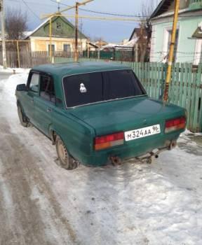 ВАЗ 2107, 2005, Екатеринбург, цена: 25 000р.