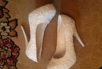 ecae6a48c Туфли на высоком каблуке 41 размера, свадебные туфли, Москва, цена и ...