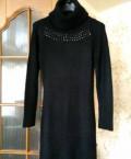 Платье чёрное р. 44-48, одежда лав репаблик каталог цены, Томск