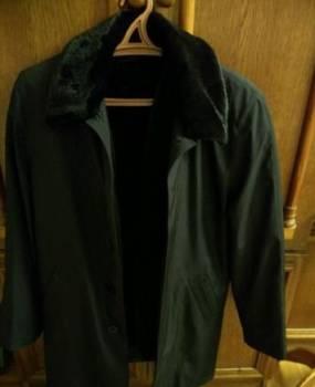 Длинная мужская куртка зима, куртка мужская, новая