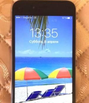 IPhone gray 6, 16 gb. замечательное состояние. Без