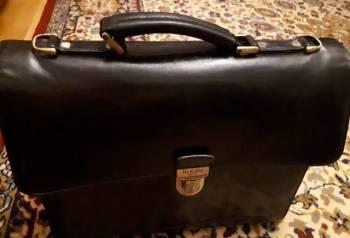 Продажа кожанного портфеля