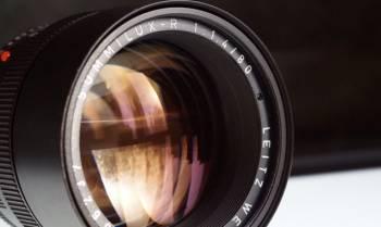 Leica r summilux 80 1, 4 arri red