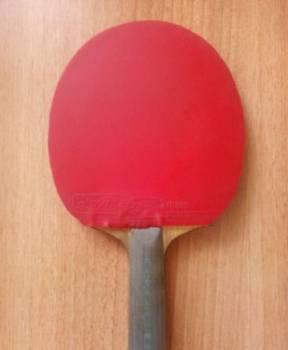 Ракетка для настольного тенниса, Красненькая, цена: 3 500р.