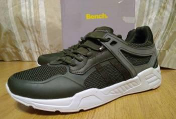 Кроссовки Bench, цвет хаки, размер 43, итальянская мужская обувь каталог