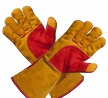 Краги-перчатки для сварщика усилинные для зимы, Мурманск, цена: 400р.