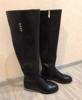 Ботфорты зима, обувь на танкетке 34 размер, Радищево, цена: 650р.