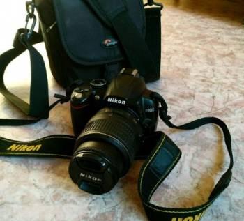 Фотоаппарат Nikon D3000 в отличном состоянии, Хабаровск, цена: 20 000р.