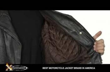 Кожаная мужская тёмно-коричневая косуха Xelement, парки куртки мужские цена, Правдинский, цена: 12 000р.