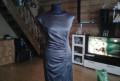 Черное бархатное платье с длинным рукавом, новое платье, Казань