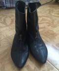 Кожаные ботинки, босоножки на танкетке бонприкс, Махачкала